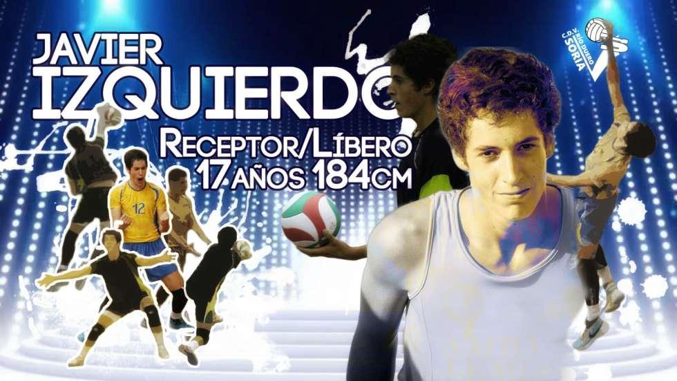 Javier Izquierdo, un juvenil de proyección para consolidar la recepción del Río Duero
