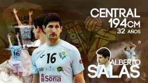Alberto Salas renueva por una temporada por Río Duero Soria