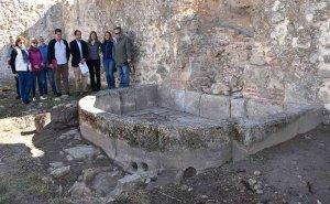 La Junta concluye los trabajos en el jardín de invierno del palacio de Frías