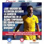 Gana dos entradas para ver el Numancia-Alcorcón