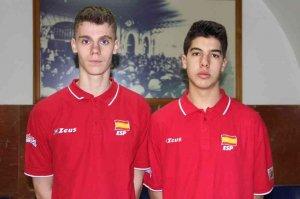 Olalla y Lorente disputan con selección sub-18 torneo en Montpellier