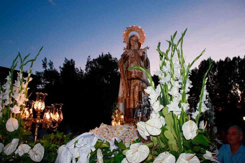 Coronación canónica pontificia de la imagen de la Virgen del Carmen