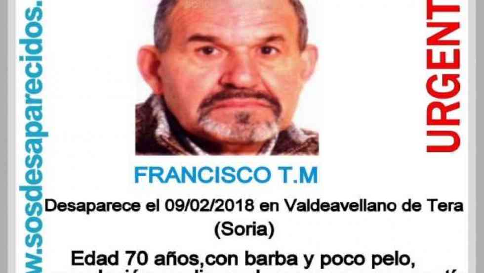 Localizado el cadáver del hombre desaparecido en Valdeavelleno de Tera