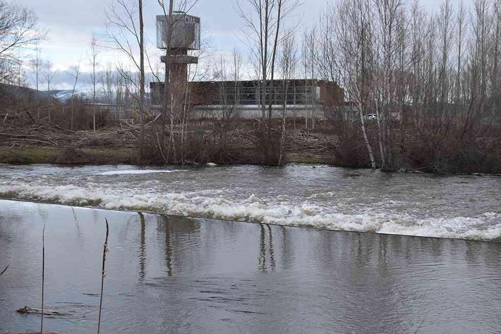 El pantano ya supera el 80 por ciento de su capacidad