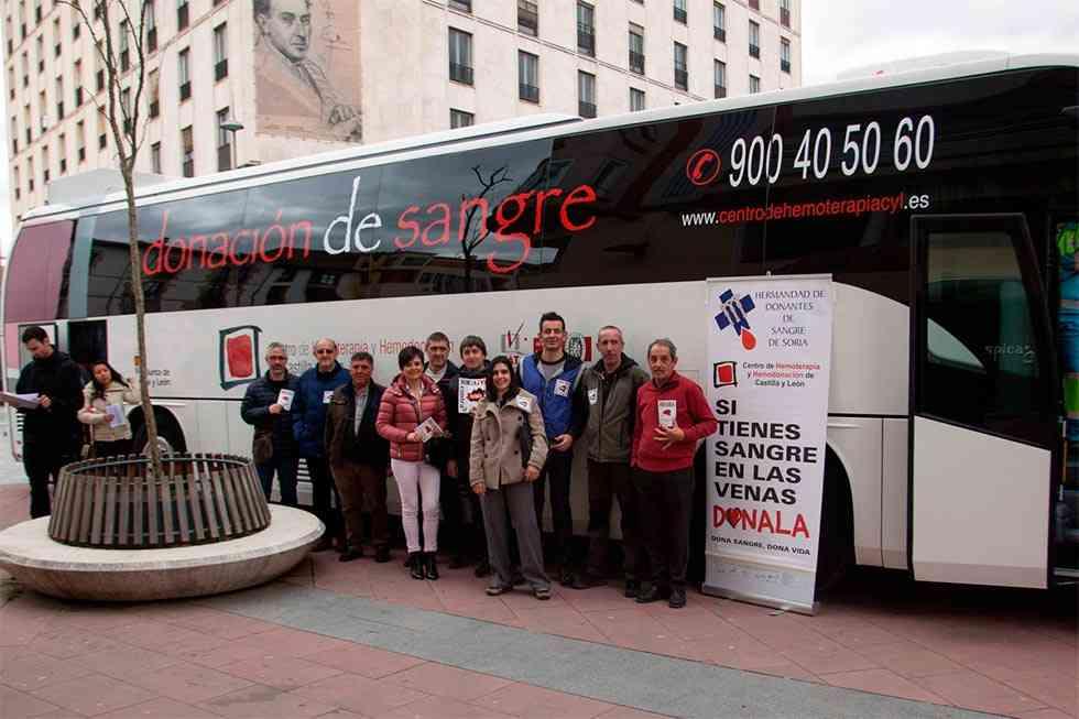 """""""Damos la sangre por Soria"""" agradece la colaboración"""