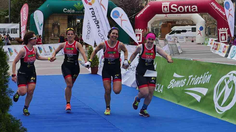 Los sorianos rozan un podio en el Campeonato de España