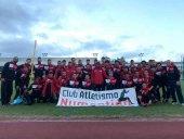 El Numantino arranca con fuerza en la Liga de Clubes