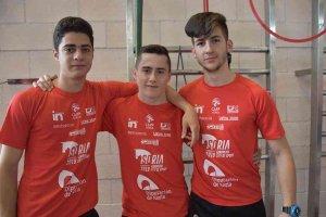 Cinco jóvenes sorianos y del CAEP,en competiciones internacionales
