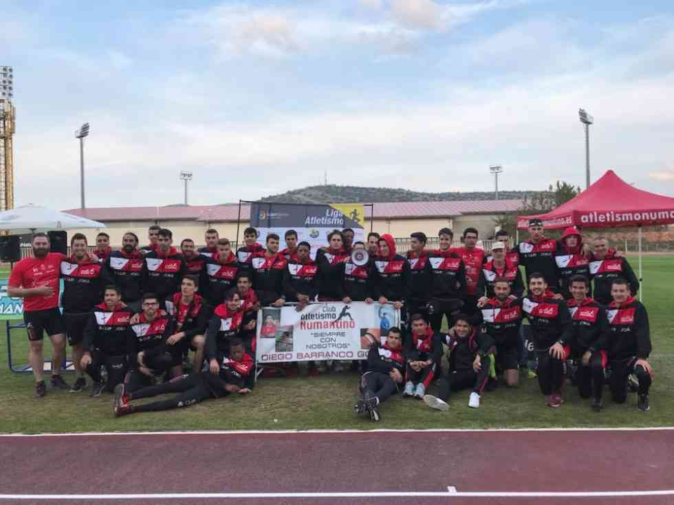 El Atletismo Numantino disputará la final de división de honor