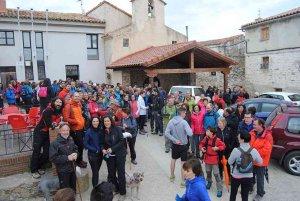 Villar del Río cierra con éxito su XI Marcha de senderismo