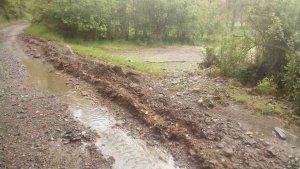 Fuerte tormenta de agua y granizo en Villar del Río