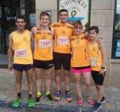 El club deportivo Globeros participa en Carrera Ciudad del Doncel