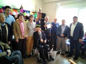 Homenaje al centenario Domingo Yubero
