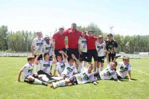 El alevín numantino, campeón en Castilla y León