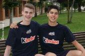 Lucas y Olalla, bronce en Bélgica en torneo Wevza