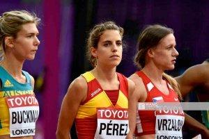 Marta Pérez, novena en la final de los 1.500 metros, en Berlín