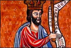 Magaña recrea la visita del rey Alfonso VIII