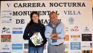 Sonia Bartolomé, premio por correr en Almazán