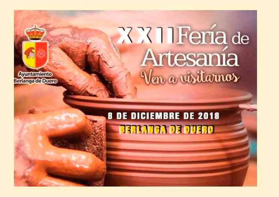 Solicitudes para participar en la Feria de Artesanía de Berlanga de Duero
