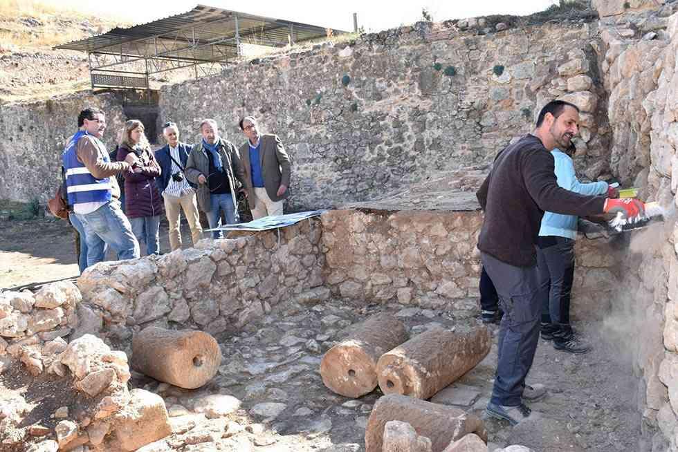 """La Junta recupera el """"Jardín de Invierno"""" del Palacio de Berlanga de Duero"""