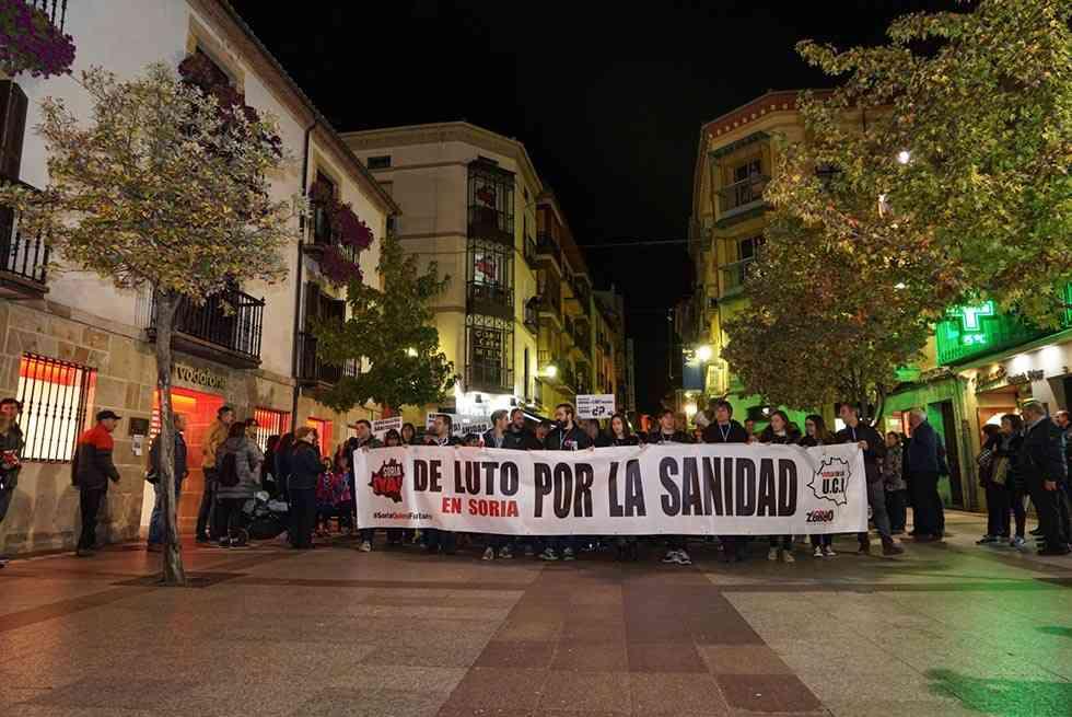 La Soria ¡Ya! asegura que 7.000 personas secundaron manifestación sobre sanidad