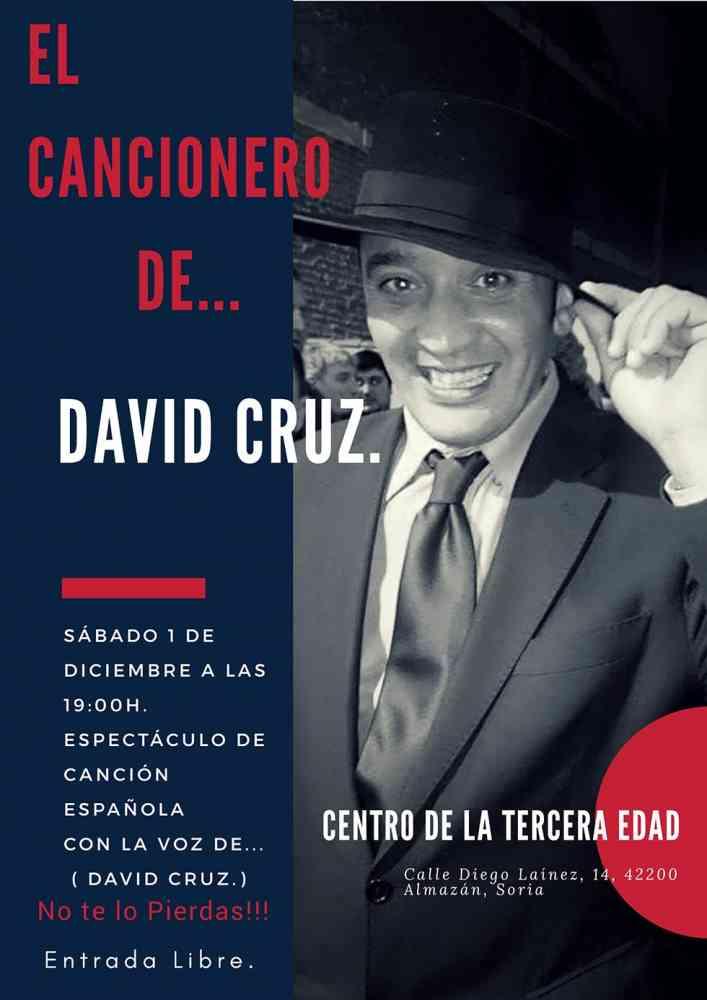 Espectáculo de coplas de David Cruz en Almazán