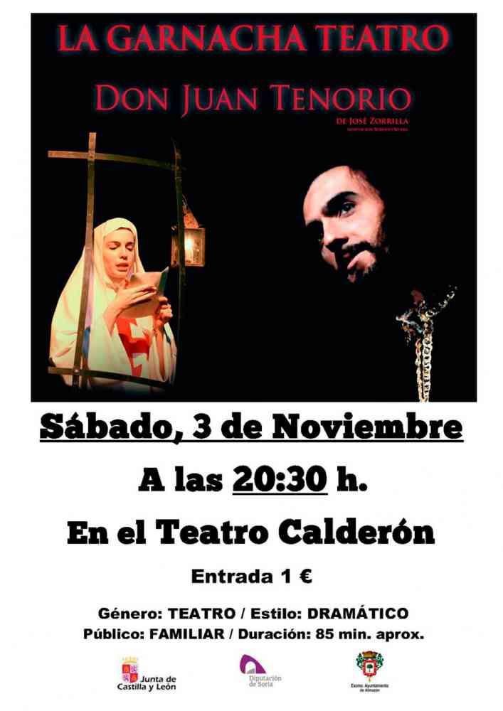 """""""La Garnacha Teatro"""" representa a """"Don Juan Tenorio"""""""