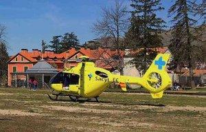 Herido un trabajador del parque eólico de Los Molinos, en Borobia