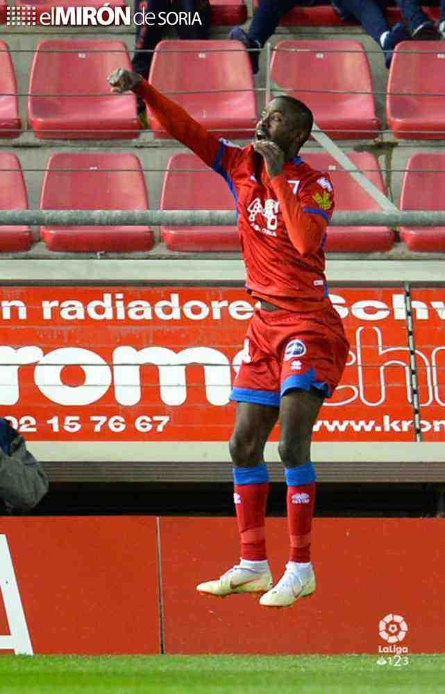 Pape Diamanka, gol 1.000 del Numancia en Segunda