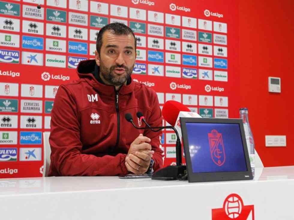 """Diego Martínez (Granada): """"El Numancia se asocia bien"""""""