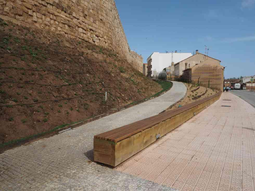 La restauración de la muralla de Almazán, reconocida en AR&PA