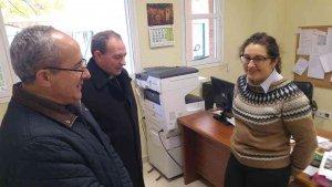 El obispo visita el I.E.S. de El Burgo de Osma