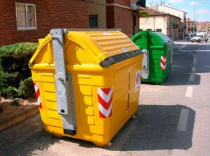 Casi 60.000 kilos de envases ligeros, en los contenedores amarillos