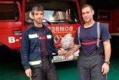 Los bomberos retiran un avíspero junto al río Duero