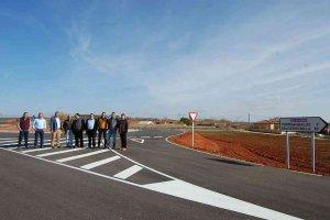 La Diputación invierte 1,1 millones en carreteras de Rioseco