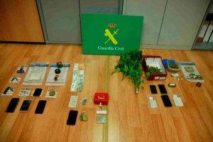 Nueve detenidos en desarticulación de dos puntos de venta de droga