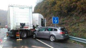 Fallece una mujer de 35 años en accidente de tráfico