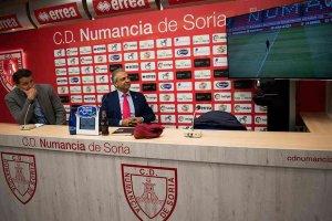 César Palacios, director deportivo del Numancia hasta 2023