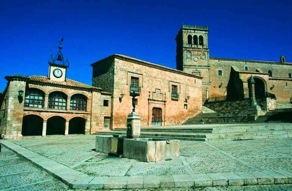Morón de Almazán, la localidad más fría de Castilla y León