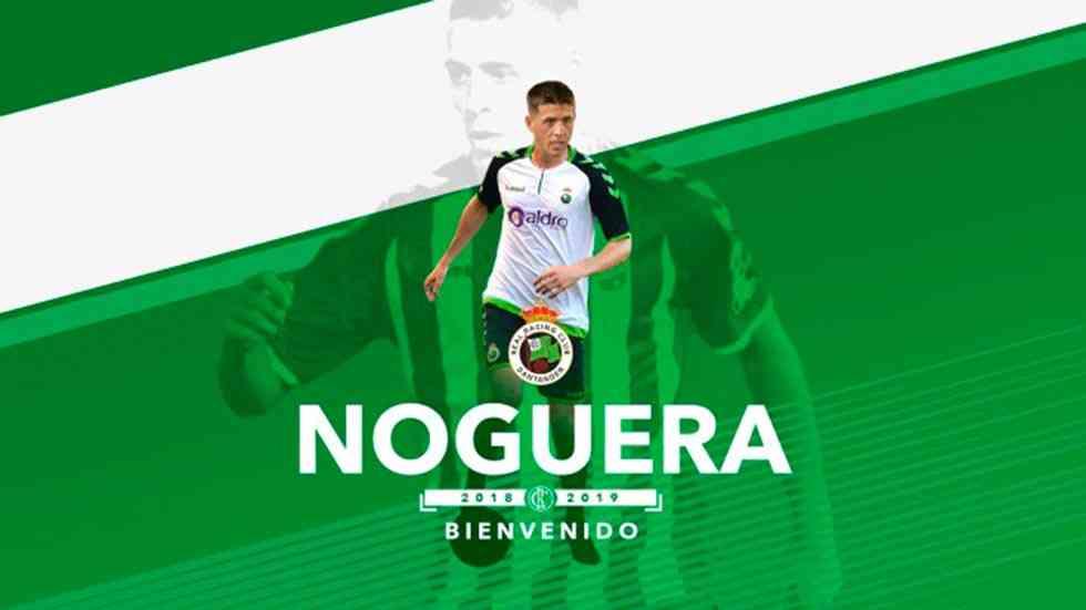 El Numancia cede a Noguera al Racing de Santander