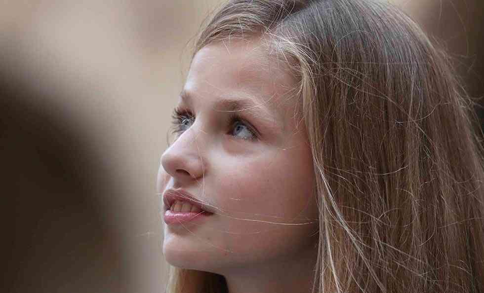 La princesa Leonor, posible visita a Andaluz en primavera