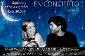 Concierto de Marta Sanley y Gabriel Peso en San Leonardo