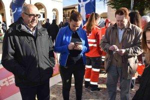Barcones resalta la unión para iniciativas como Legua y Media de Bayubas