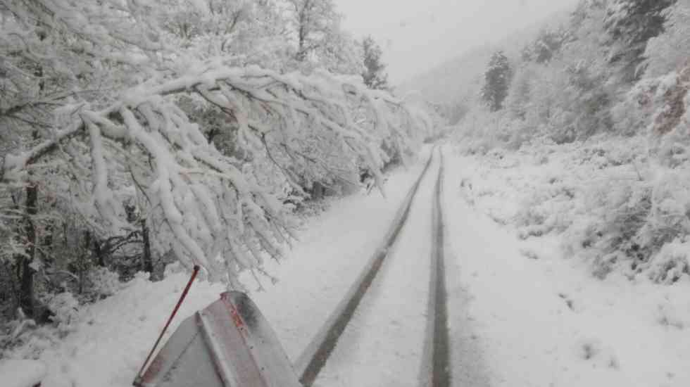 Activada la fase de alerta por nieve en las carreteras de Soria