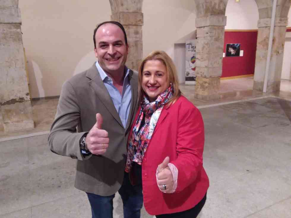 Miguel Cobo, candidato del PP a la alcaldía de El Burgo