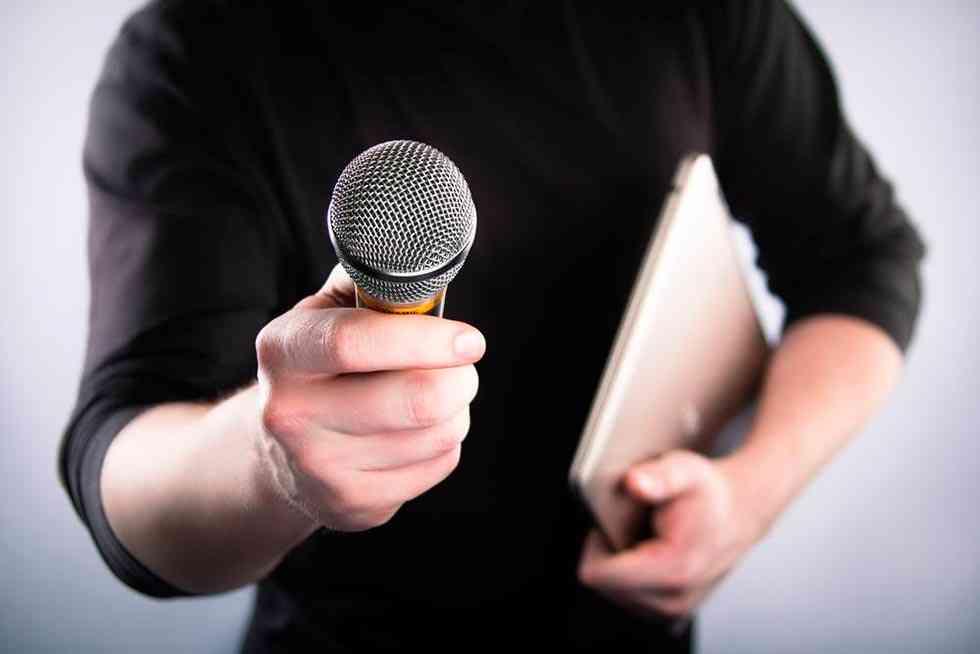 Las reivindicaciones de los periodistas en su fiesta