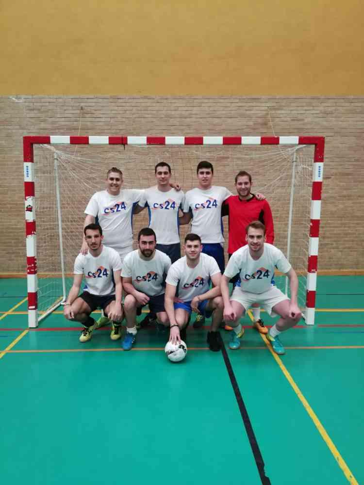 El Cs24, mejor equipo de la Liga Municipal de fútbol sala