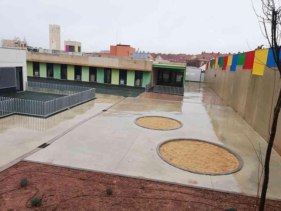 Golmayo recepciona la ampliación del colegio Gerardo Diego
