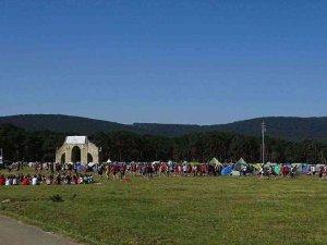 """El campamento """"Raso de la Nava"""", con más de 4.500 campistas"""