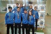 Cinco nuevas medallas para el club Bádminton Soria